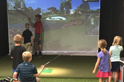 Fall Golf Class for Kids
